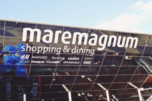 Sonntags-Shopping in Barcelona