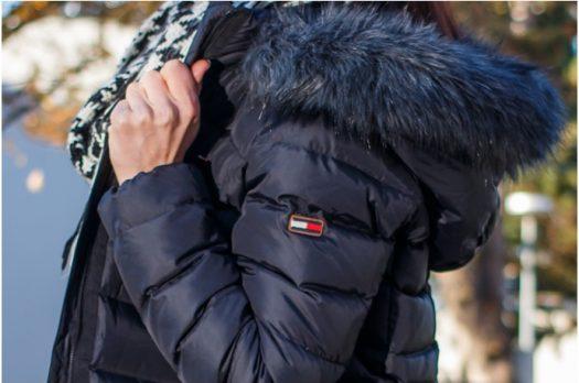 Winterlook – Hilfiger Denim Daunenjacke