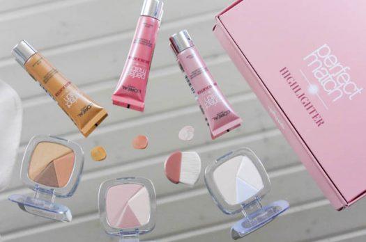 "#STROBING – ""Perfect Match Highlighter"" von L'Oréal Paris"
