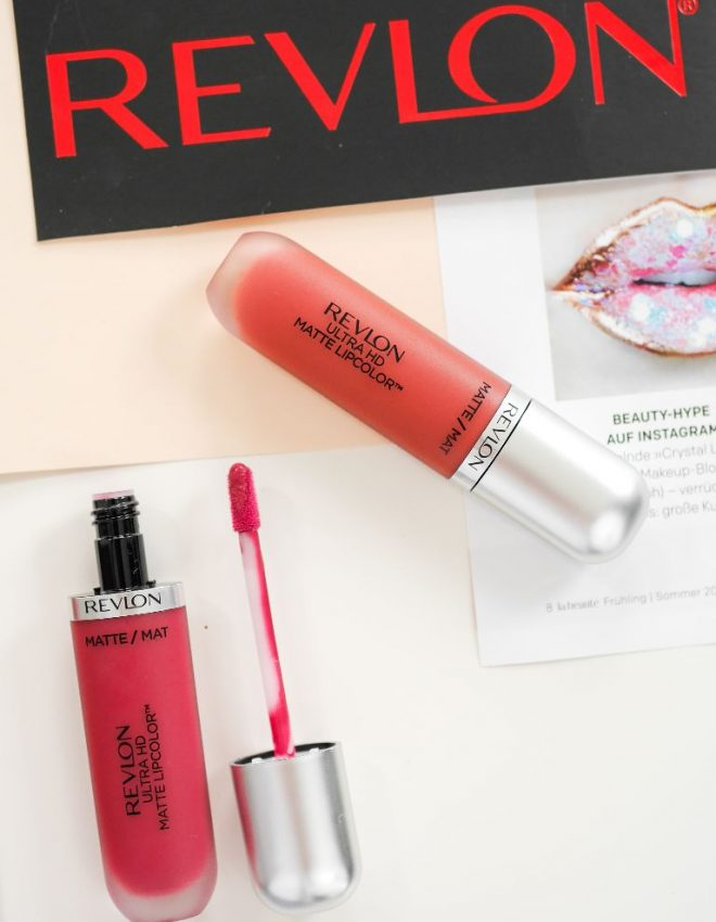 #REVLON – Ultra HD™ Gel Lipcolor &Matte Lipgloss