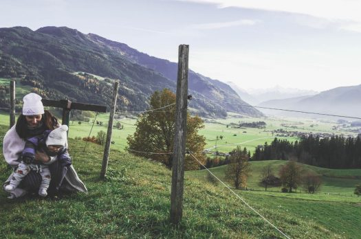 #ÖSTERREICH – Mein erstes Mal in den Alpen, unser Wellnessurlaub mit Baby im Ritzenhof