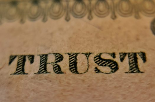 Regel Nummer eins: Vertrauen, nicht hoffen!