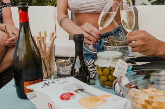 DOC Prosecco &italienische Feinkost – ein Sommerabend mit der Familie