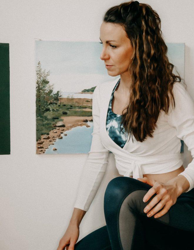 """""""Zeit für mich"""" bedeutet aktuell Yoga oder Meditation am Morgen"""